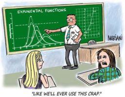 Mathe exponentielle Funktionen